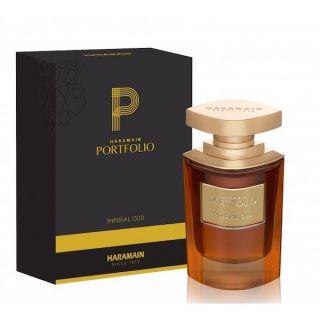 Al Haramain Portfolio Imperial Oud EDP 75ml Perfume For Men