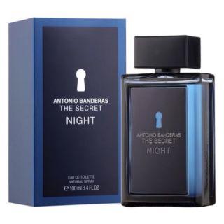Antonio Banderas Secret Night EDT 100ml For Men