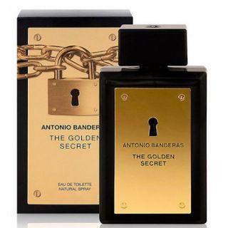 Antonio Banderas The Golden Secret EDT 100ml Perfume For Men