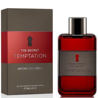 Antonio Banderas The Secret Temptation EDT 100ml Perfume For Men