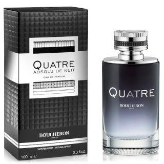 Boucheron Quatre Absolue De Nuit  EDP  100ml  Perfume For Men