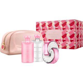 Bvlgari Omnia Pink Saphire EDT 65ml 4-Piece Gift Set For Women