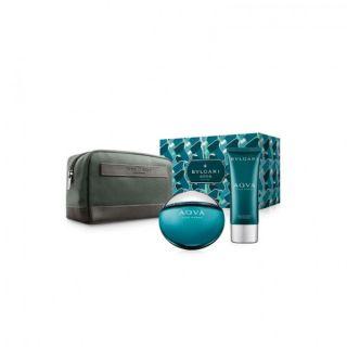 Bvlgari Aqua EDT 3-Piece Gift Set For Men