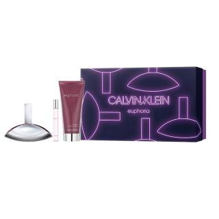Calvin Klein Euphoria EDP 100ml 3-Piece Gift Set For Women