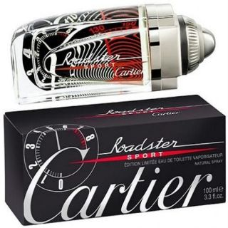 Cartier Roadster Sport Speedometer Limited Edition EDT 100ml Perfume For Men