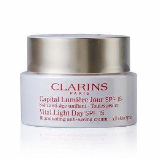 Clarins-Vital-Light-Day-Illuminating-Anti-Ageing-Cream-SPF 15