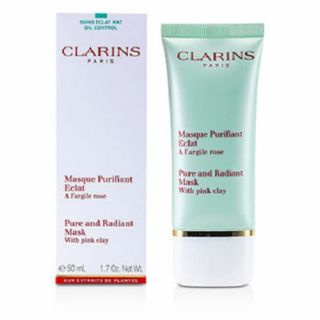Clarins Pure Radiant Mask With Pink Clay 50ml