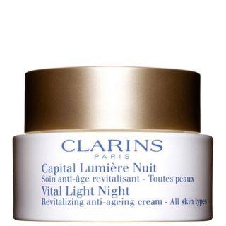 Clarins Vital Light Night Revitaliszing Anti Ageing Cream 50ml