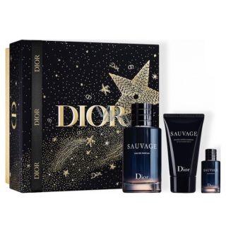 Christian Dior Sauvage EDP 100ml 3-Piece Gift Set