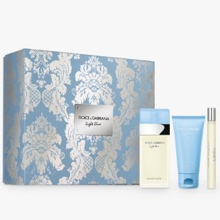 Dolce & Gabbana Light Blue 100ml EDT 3-Piece Gift Set For Women