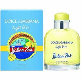 Dolce & Gabbana Light Blue Italian Zest EDT 125ml Perfume For Men