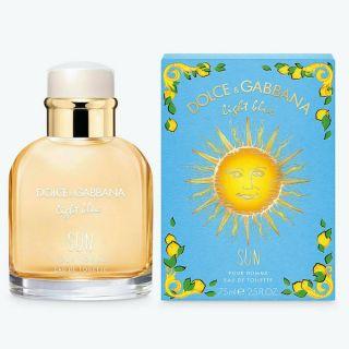 Dolce & Gabbana Light Blue Sun EDT 75ml For Men