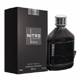 Dumont Nitro Black EDT 100ml Perfume For Men