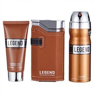 Emper Legend EDT 100ml 3-Piece Gift Set For Men