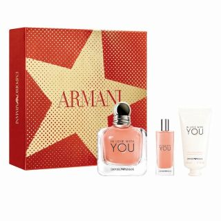 Emporio Armani In Love With You EDP 100ml 3-Piece Gift Set For Women