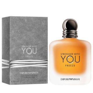 Emporio Armani Stronger With You Freeze 100ml EDT For Men