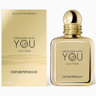 Emporio Armani Stronger With You Leather EDP 100ml For Men