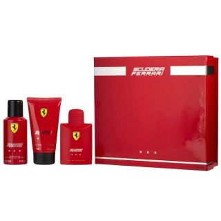 Ferrari Red EDT 125ml 3-Piece Gift Set For Men