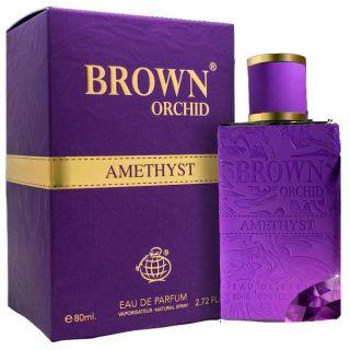 Fragrance World Brown Orchid Amethyst EDP 80ml Unisex Perfume