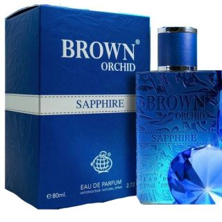 Fragrance World Brown Orchid Sapphire EDP 100ml For Men