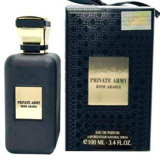 Fragrance World Private Army Rose Arabia EDP 100ml