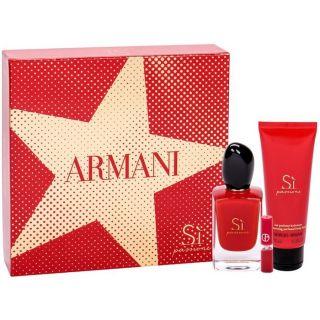 Giorgio Armani Si Passione EDP 3-Piece Gift Set For Women