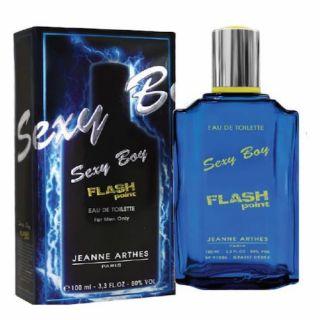 Jeanne Arthes Sexy Boy Flash Point EDT 100ml For Men