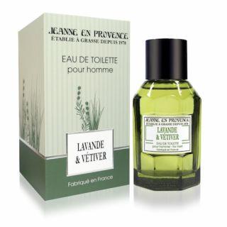 Jeanne En Provence Lavande & Vetiver EDT 100ml Perfume For Men