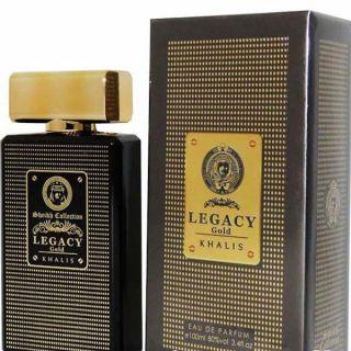 Khalis Legacy Gold EDP 100ml Perfume For Men