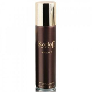 Korloff Royal Oud 150ml Deodorant Spray For Men
