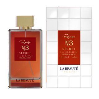 La Beaute Range N3 Secret Premium Niche EDP 120ml For Men