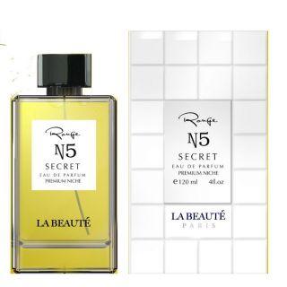 La Beaute Range N5 Secret Premium Niche EDP 120ml Perfume