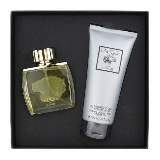 Lalique Pour Homme EDT 100ml 2-Piece Gift Set For Men
