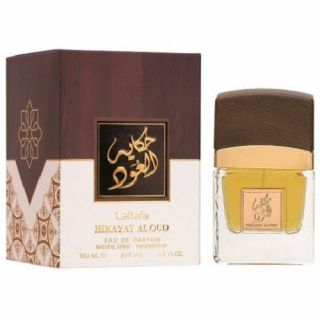 Lattafa Hikayat Al Oud EDP 100ml Perfume For Men