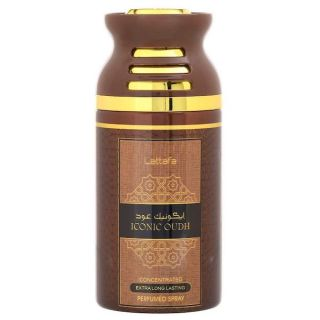Lattafa Iconic Oudh 250ml Deodorant Spray