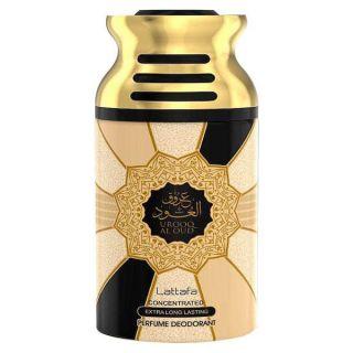 Lattafa Urooq Al Oud 250ml Deodorant Spray