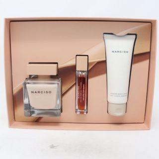 Narciso Rodriguez Eau de Parfum Poudree 3-Piece Gift Set