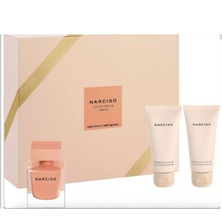 Narciso Rodriguez Narciso Ambree EDP 50ml 3-Piece Gift Set For Women