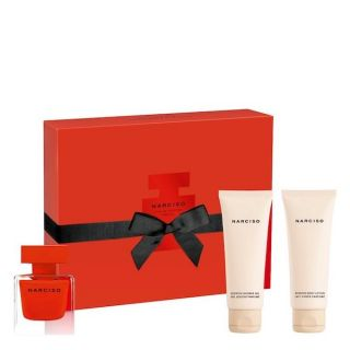 Narciso Rodriguez Rouge EDP 50ml 3-Piece Gift Set For Women