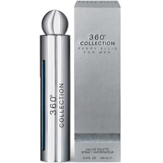 Perry Ellis 360 Collection EDT 100ml Perfume For Men, a 2014 collection is fused with Black Pepper, Cardamon and Fresh Lavender draft a spicy and energizing top note.   Refreshing Water Mint and crisp Geranium complement a warm blend of Nutmet, Sage and C