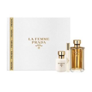 Prada La Femme EDP 3-Piece Gift Set For Women
