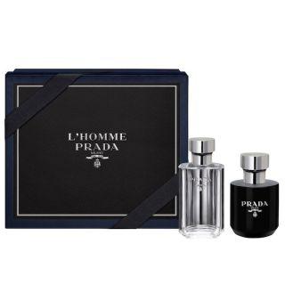 Prada Milano L'Homme EDT 100ml 2-Piece Gift Set For Men