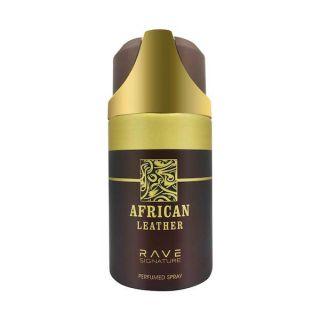 Rave African Leather 250ml Deodorant Spray