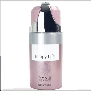 Rave Happy Life 250ml Deodorant Spray For Women