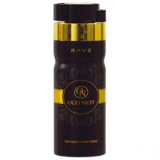 Rave Oud Nuit 250ml Deodorant Spray For Men