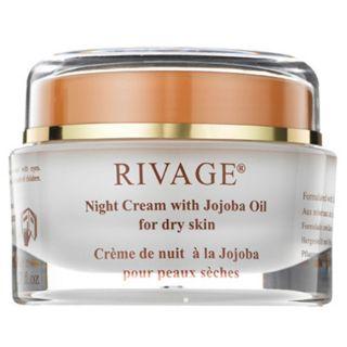 Rivage Night Cream With Jojoba Oil For Dry Skin 50ml