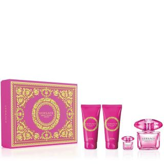 Versace Bright Crystal Absolu EDP 90ml 4-Piece Gift Set For Women