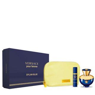 Versace Dylan Blue EDP 100ml 3-Piece Gift Set For Women