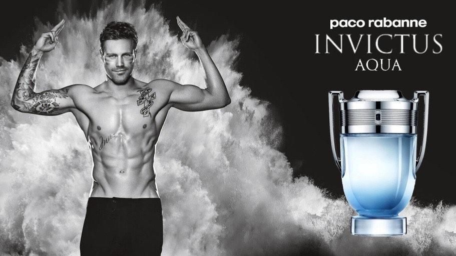 Paco Rabanne Invictus Aqua EDT 100ml Perfume For Men